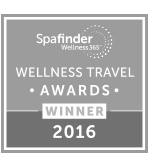 WELLNESS TRAVEL AWARDS WINNER 2016