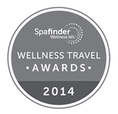 WELLNESS TRAVEL AWARDS WINNER 2014